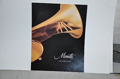 Monette trumpet brochure  1995 product guide    large