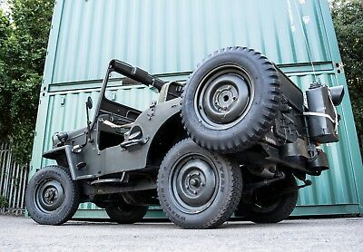 J58 Willys Jeep - Military Vehicle