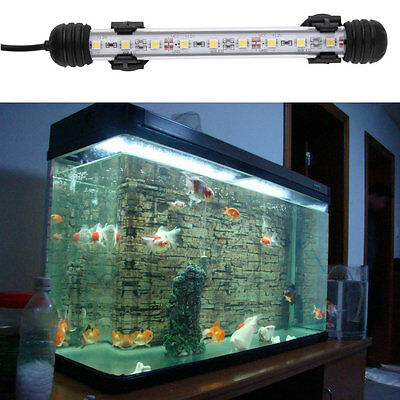 Waterproof Underwater Aquarium Fish Tank LED Light Bulb Lamp Tube 18CM GTjj