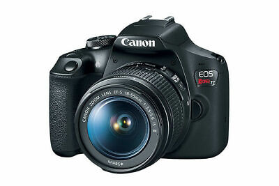 Canon EOS Rebel T7 Digital SLR Camera with 18-55mm Lens