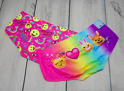 Justice Girls Size 8/10 Colorful Underwear New With Tags