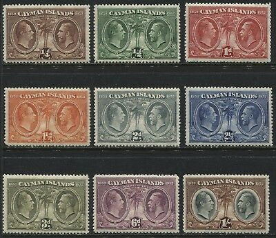 Cayman Islands KGV 1932 1/4d to 1/  mint o.g.