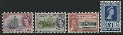 Cayman Islands QEII 1953  2/ to £1 mint o.g.