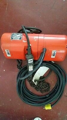 CM Lodestar Model C - Electric Chain Hoist - 1/4 Ton  - 115V single phase