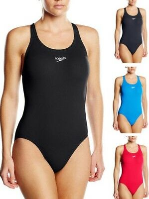 Speedo Essential Endurance+ Medalist Swimsuit Swimming Costume Non Wired