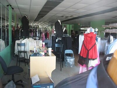 Entire Inventory Of Suits Tuxedos, Dresses Closing Store