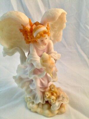 """ROMAN SERAPHIM CLASSIC ANGEL CASSIDY """"BLESSINGS FROM ABOVE"""" 8"""" excellent W/BOX"""