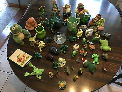 Huge Lot of collectable frogs