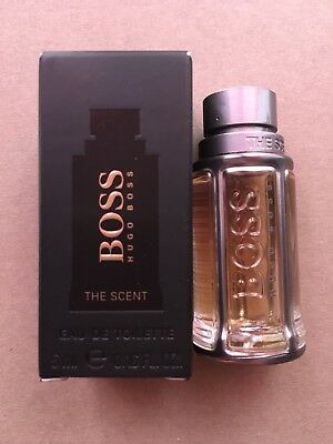 Profumo Uomo, BOSS The Scent, 5 ml EDT, Mignon, NUOVO