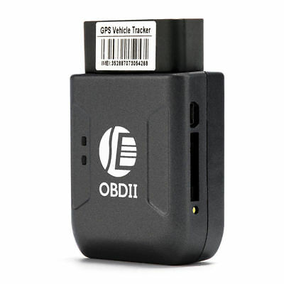 Car GPS Tracking Device Mini Hidden OBD2 Interface Fleet Vehicle Tracker TK206