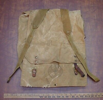 Vintage Boy Scouts Of America No.574 Yucca Back Pack,W/Heavy Use,As Pictured