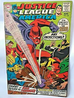 JUSTICE LEAGUE OF AMERICA     # 64      (1968)   Red Tornado