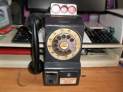 Vintage Toy Ideal's Talking Telephone Coin Bank 1950's