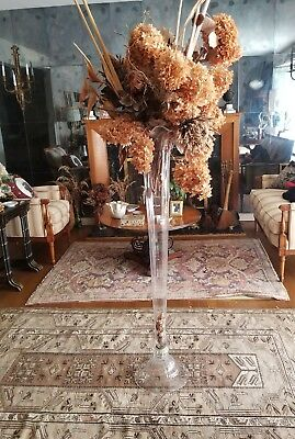 Mid-20th Century Free Standing Floor Vase 48 inches High
