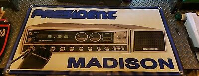 President Madison Radio Banner Brand New for your Man Cave