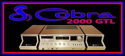 COBRA 2000 GTL Banner Brand New for your Man Cave COLLECTIBLE L@@K