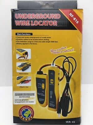 Underground Cable Wire Locator Locate Pet Fence Wires