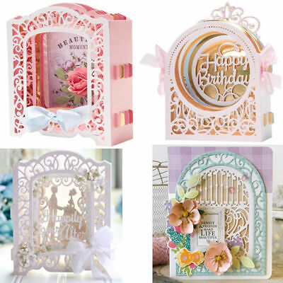 Build Up Box Metal Cutting Dies Stencil Scrapbooking Embossing Card Paper Craft