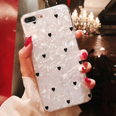 Shockproof Marble Soft Silicone Phone Case Skin Cover For iPhone 6s 7 8 Plus X
