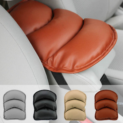 Car SUV Center Box PU Armrest Console Soft Pad Durable Cushion Cover Wear Black