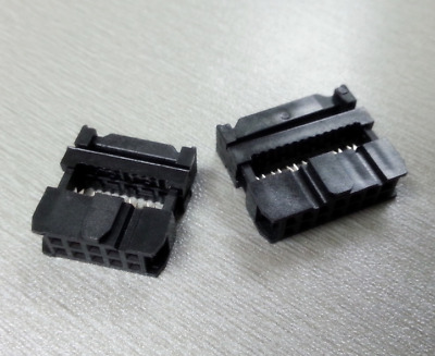 New IDC 6-pin Mounting Plug for Connector Ribbon Flat Cable IDC6 Male