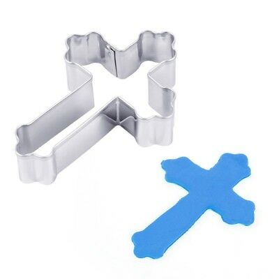 Cross Shape Cookie Cutter Stainless Steel Baking Tools Cake Mould Sugar Craft