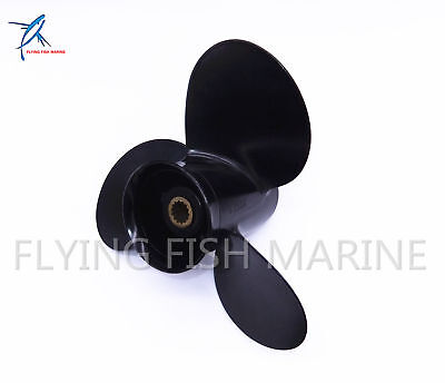 48-897750A11 9.25X9 P Aluminum Propeller For Mercury 9.9-20HP Boat Outboard