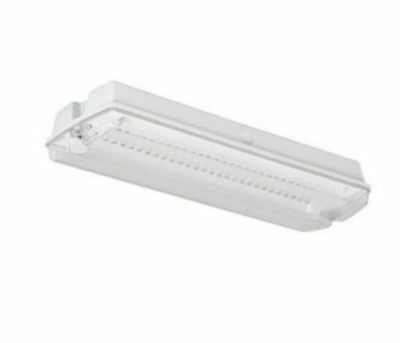 NEWLEC LED IP65 Emergency Legend Maintained/Non Maintained Bulkhead Light NLE3B