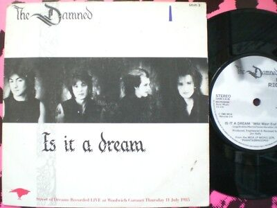Punk - The Damned - Is It A Dream - Picture Cover
