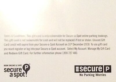 Secure Parking Gift Card