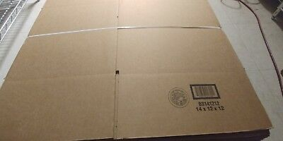 14x12x12 SHIPPING BOXES - 25 pack - Packing Mailing Moving Storage