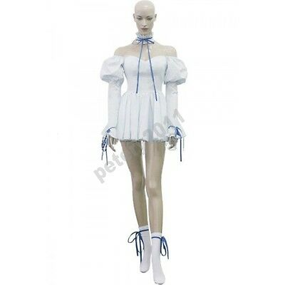 Custom-made Chobits Chii White Dress Cosplay Costume