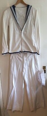 Men's Original Navy Sailor Uniform - 36inch Chest - 30/32 inch Waist Approx