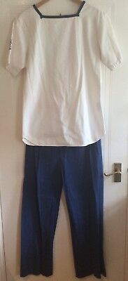 Men's  Navy Sailor Uniform - Medium 40 Chest Approx