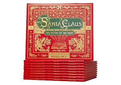 Santa Claus: The Book of Secrets Christmas Mysteries Story Book Hardback Father