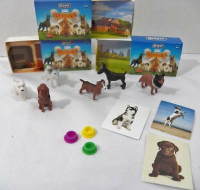 ~BREYER~ Pocket Dogs Blind Bags 6 Dogs 3 Boxes