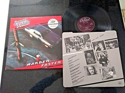 "April Wine ""Harder... Faster"" Lp Orig Uk Press + Inner"