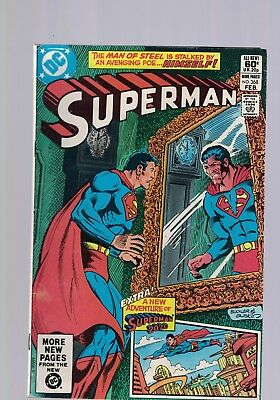 DC Comics Superman no 368 Feb 1982 60c USA