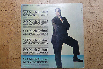 Wes Montgomery  So Much Guitar ! LP  TOP