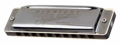 Fender® Midnight Special Diatonic 10 Hole Harmonica made by Seydel in Key of E