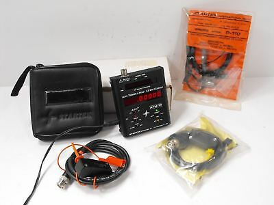 Startek ATH-15 Auto Trigger & Hold 1.5 GHz Counter w/ Orig Box, Probes, Accs