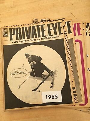 Small Collection Of Ten Vintage Private Eyes From 1965