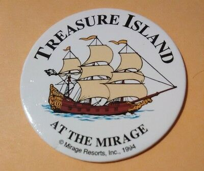 1994 Treasure Island Casino Las Vegas Cardboard Chip Great For Any Collection #1