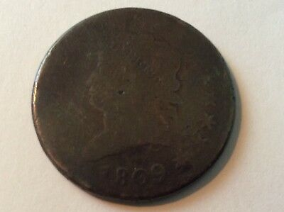 1809 Classic Head Large Cent