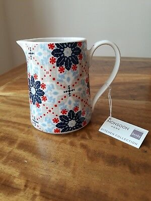 Denby Monsoon Bettie Small 10cm Jug *New with Tags*