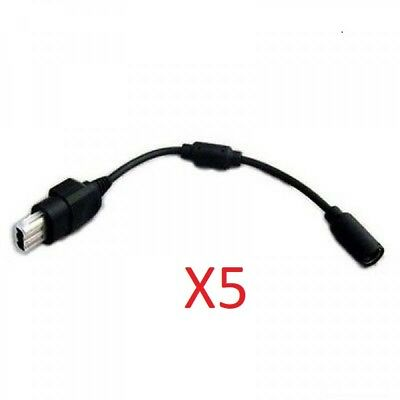 5x Original XBOX Breakaway Cable Bulk for Microsofot Xbox Wired Controller
