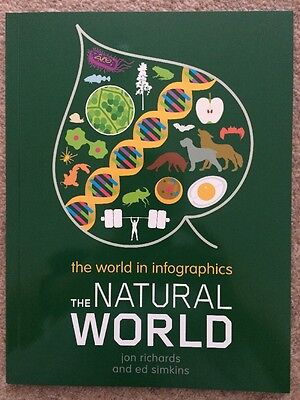 The Natural World in Infographics by Ed Simkins and Jon Richards **BRAND NEW**