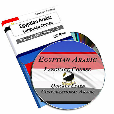 Egyptian Arabic Language Learn Speak Course Home Learning Study Audio Mp3 CD 189