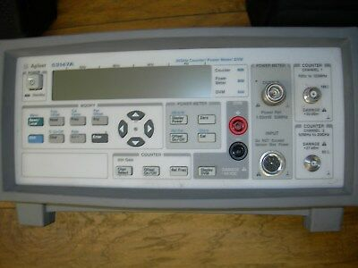 Agilent 53147A Microwave Frequency Counter/Power Meter/DVM 20GHz