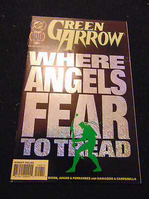Green Arrow #100, VF/NM, Superman appearance, DC Comics